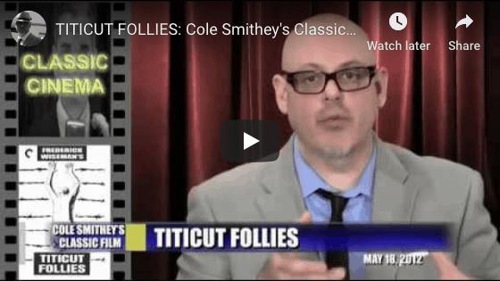 screen cap of YouTube Titticut Follies video