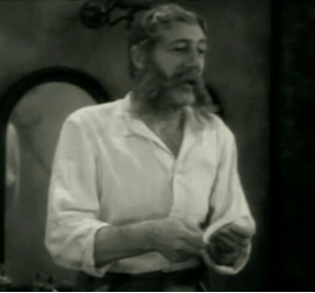 Actor Lumsden Hare as the scheming hypnotist in Svengali, a 1931 film adaptation of Trilby