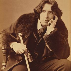 Oscar Wilde, photographed in New York City in 1882. (U.S. Library of Congress)
